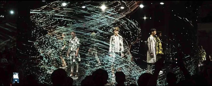 hologrammes pour la mode