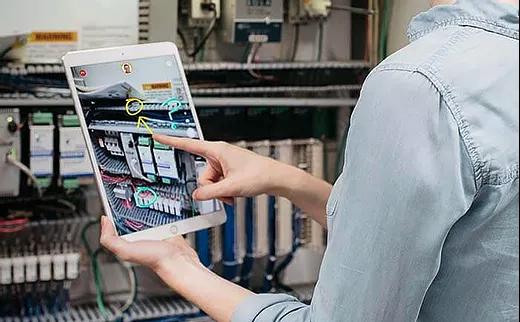 maintenance usine réalité augmentée AR