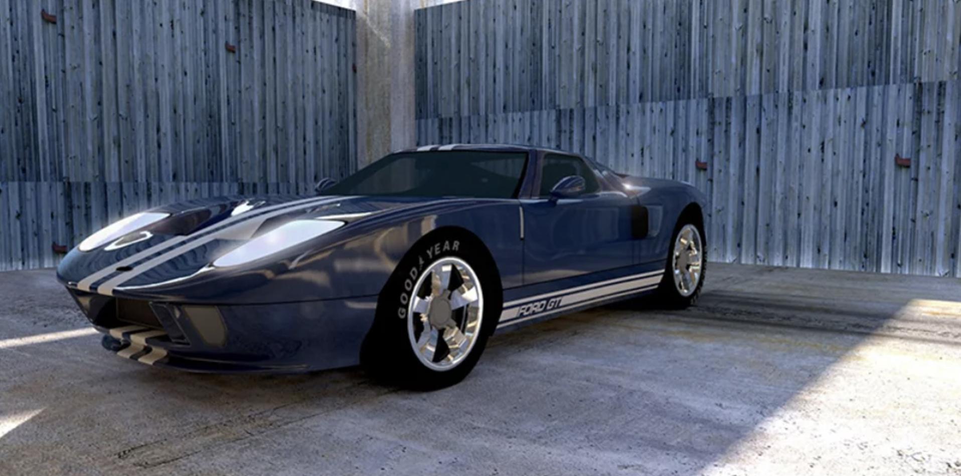 Rendus 3D voiture