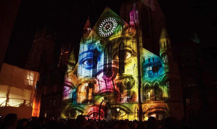 mapping 3D façade son et lumière